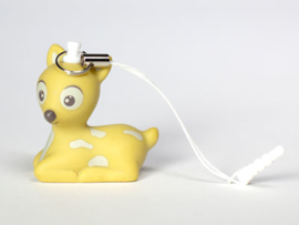 Deco-phone-hanger thema Suzi, kleur oker