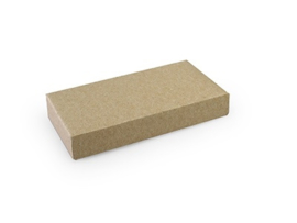 Rechthoekig doosje 1,5x10x5 cm, kleur Kraft