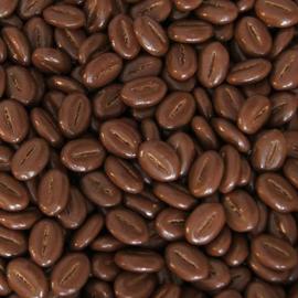 Koffiebonen melkchocolade