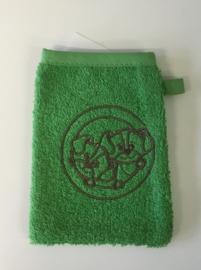 Little Triki's mini-washandje, kleur groen