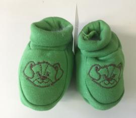 Little Triki's slofjes, kleur groen