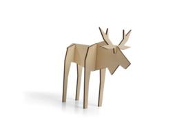 Nordic eland, klein model, kleur naturel (10,5 x 15 cm)