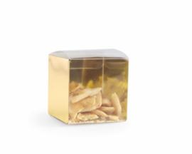 Pet kubus 5 x 5 x 5 met gouden rug