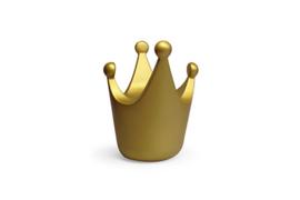Royal spaarpot klein model, kleur goud