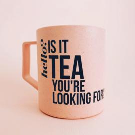 Beker 'Is it tea you're looking for?