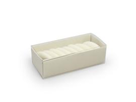 Schuifdoosje 2,2x7,4x3,1 cm, kleur cotton