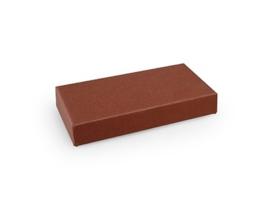 Rechthoekig doosje 1,5x10x5 cm, kleur terra