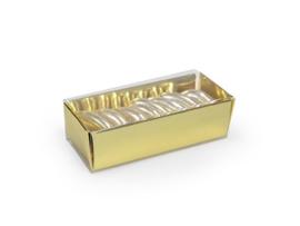 Schuifdoosje 2,2x7,4x3,1 cm, kleur blinkend goud