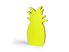 Miami ananas 3D large model (35,50 x 19,6 x 3 cm)