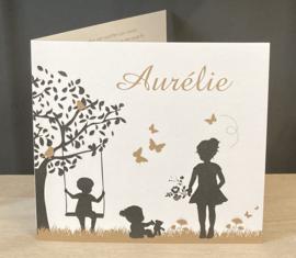 Aurélie geboortekaart
