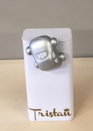 Magneetje Sammy auto kleur zilver (blikje niet inbegrepen)