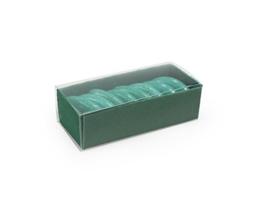 Schuifdoosje 2,2x7,4x3,1 cm, kleur Forest green