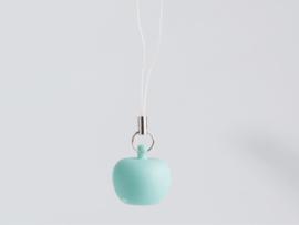 Mini-hanger appeltje muntgroen
