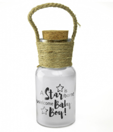 Big star light: A star is born, welcome baby boy !
