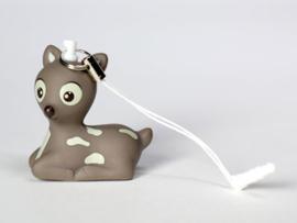 Deco-phone-hanger Suzi, kleur taupe
