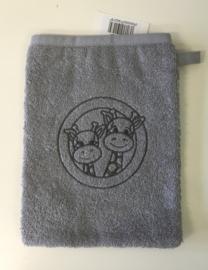 Little Triki's washandje, kleur grijs