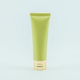Handcrème kleur eucalyptus met gouden dop (inhoud 50 ml)
