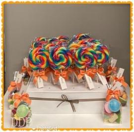 Lollies en snoepzakjes voor klasverjaardag