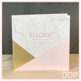 Elloïse geboortekaart