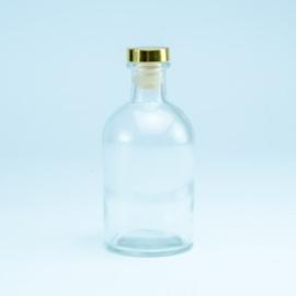 Luxe fles, kleur transparant, 250 ml