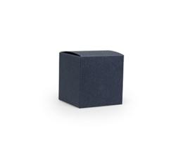Kubusdoosje 5x5x5 cm, kleur nachtblauw