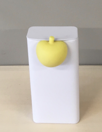 Magneetje appel kleur geel (blikje niet inbegrepen)