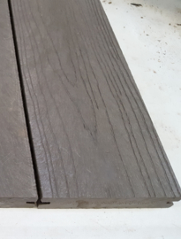 GovaDeck kunststof vlonderplank met houtstructuur (antraciet/grijs/taupe)
