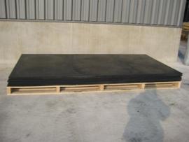 Govaplast kunststof standaard plaat 6 x 1220 x 2440 mm (zwart)