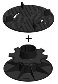 Tegeldragers - Verstelbaar tot 17 cm hoogte