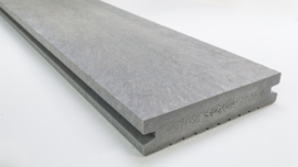 GovaDeck kunststof vlonderplank, kleur grijs