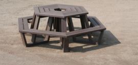 ROMA 6-hoeks tafel