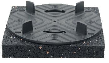 Vaste tegeldragers 10mm - 24 mm hoogte