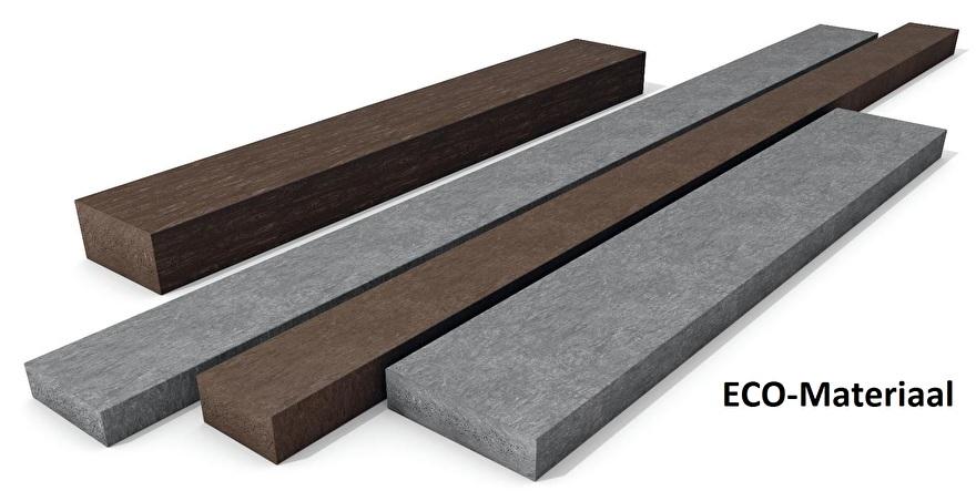 ECO kunststof planken / balken