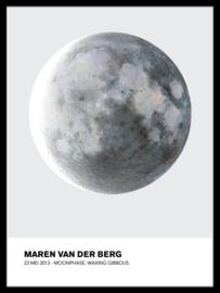 Maanstand poster - Geboorte