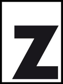 Letterposter - modern