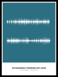 Soundwave poster - jouw lied