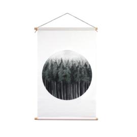 Kerstbomen textielposter 3