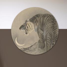 Art: Tijger - wandcirkel