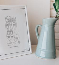 Huisportret - schets