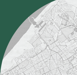 Den Haag stadskaart - potloodschets