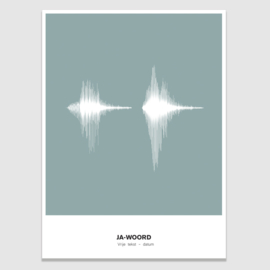 Soundwave poster - eigen geluid
