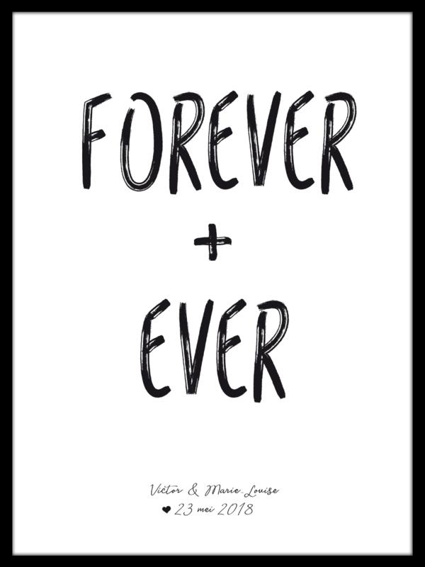 Forever + Ever poster