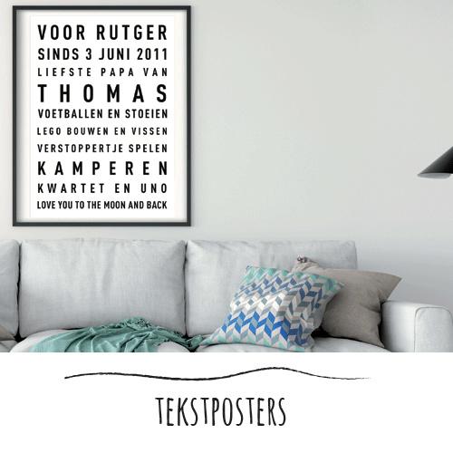 Familie tekstposter