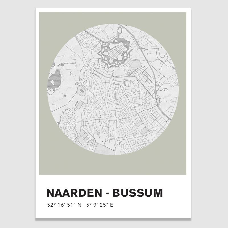 Naarden-Bussum - potloodschets - 20 kleuren