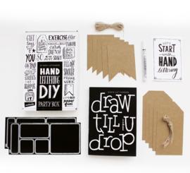 DIY Handlettering Partybox
