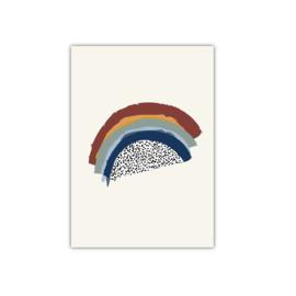 Regenboog || A5 poster