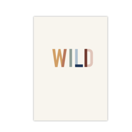 Wilde || A4 poster