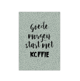 Goedemorgen || A5 poster