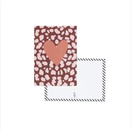 Kaartenset Hip || Set van 6 ansichtkaarten