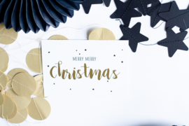 Merry Merry Christmas || A6 Kaart